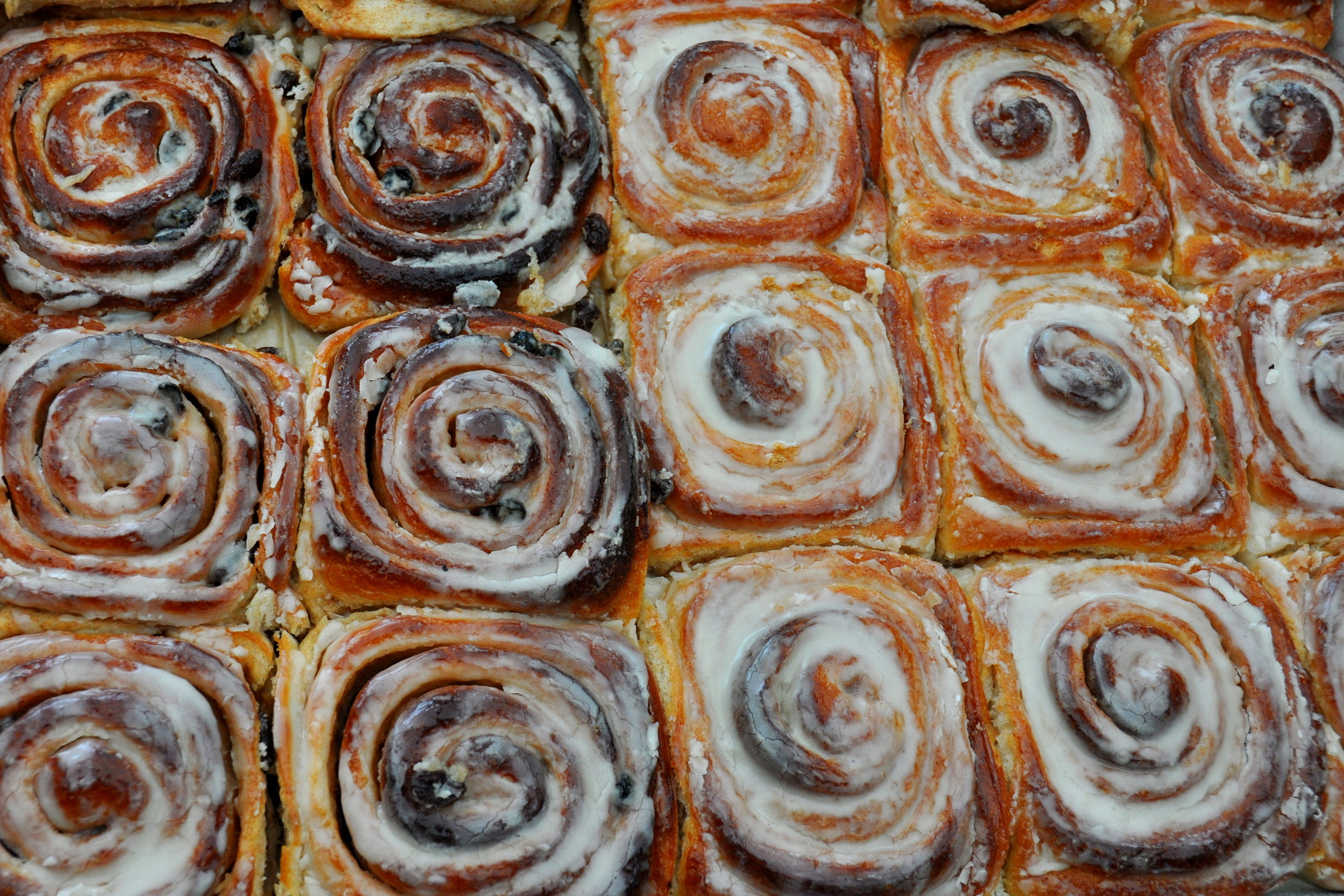 Cinnamon rolls from Tall Grass Bakery. Copyright Zachary D. Lyons.