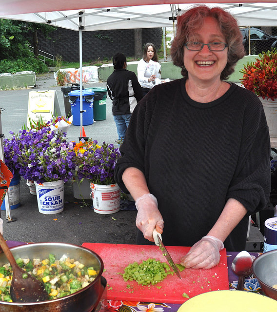 Patty Pan Cooperative's Devra Gartenstein in 2014. Photo: Zachary D Lyons.