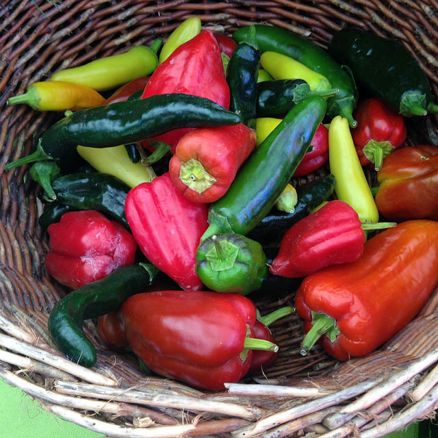 Peppers from Growing Things Farm