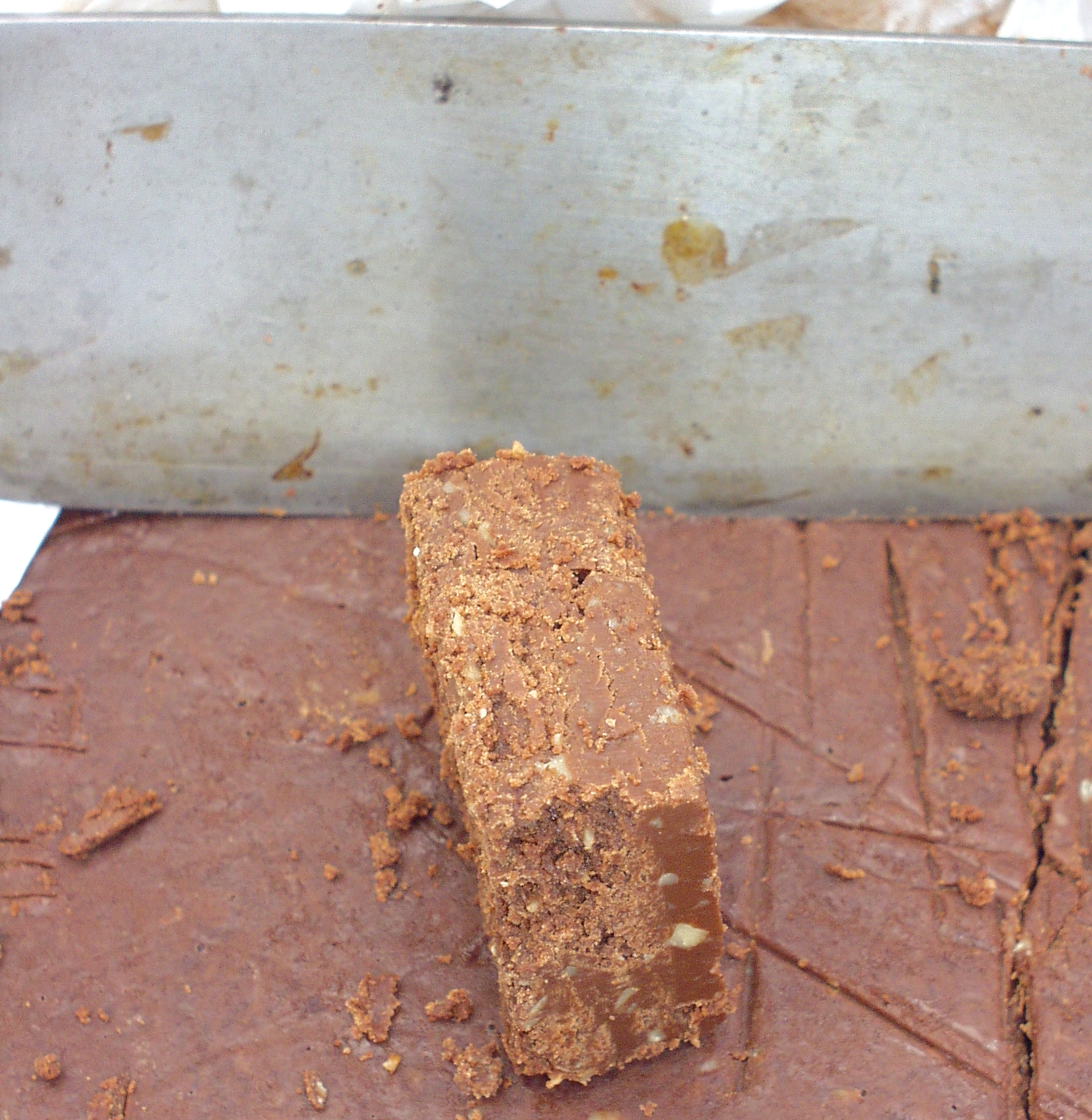 Fudge from Pete's Perfect Butter Toffee. Photo copyright 2009 by Zachary D. Lyons.