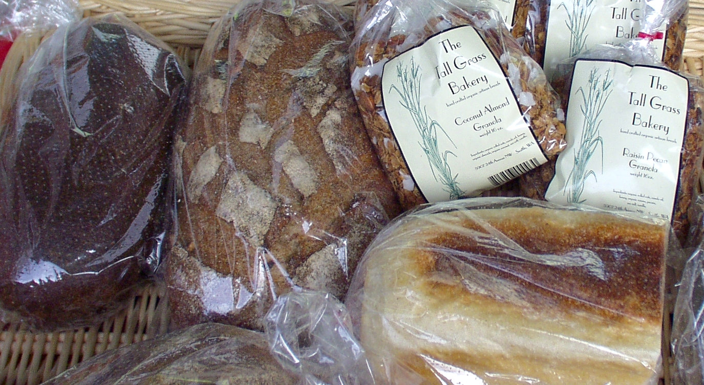 Specialty bread and granola from Tall Grass Bakery. Photo copyright 2009 by Zachary D. Lyons.
