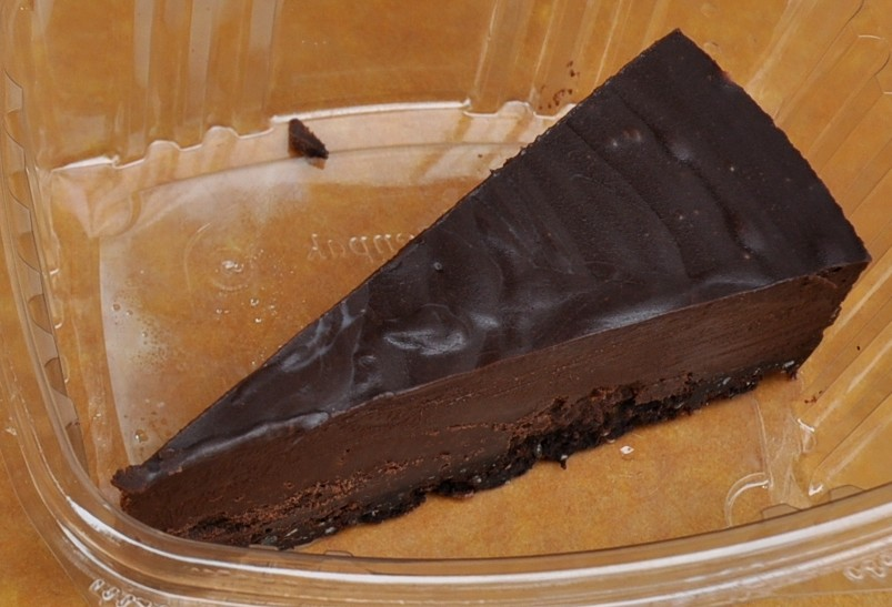 Incan Berry (left) & Dark Chocolate Tortes by House Of The Sun. Photo copyright 2010 by Zachary D. Lyons.
