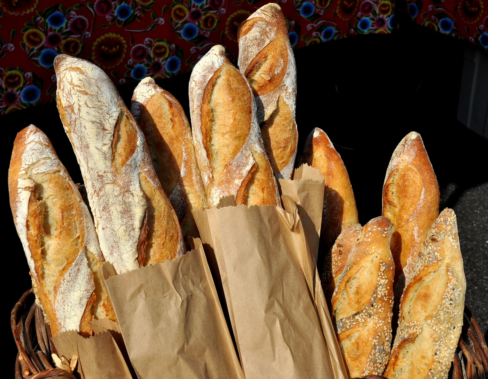 Baguettes from Tall Grass Bakery. Photo copyright 2010 by Zachary D. Lyons.