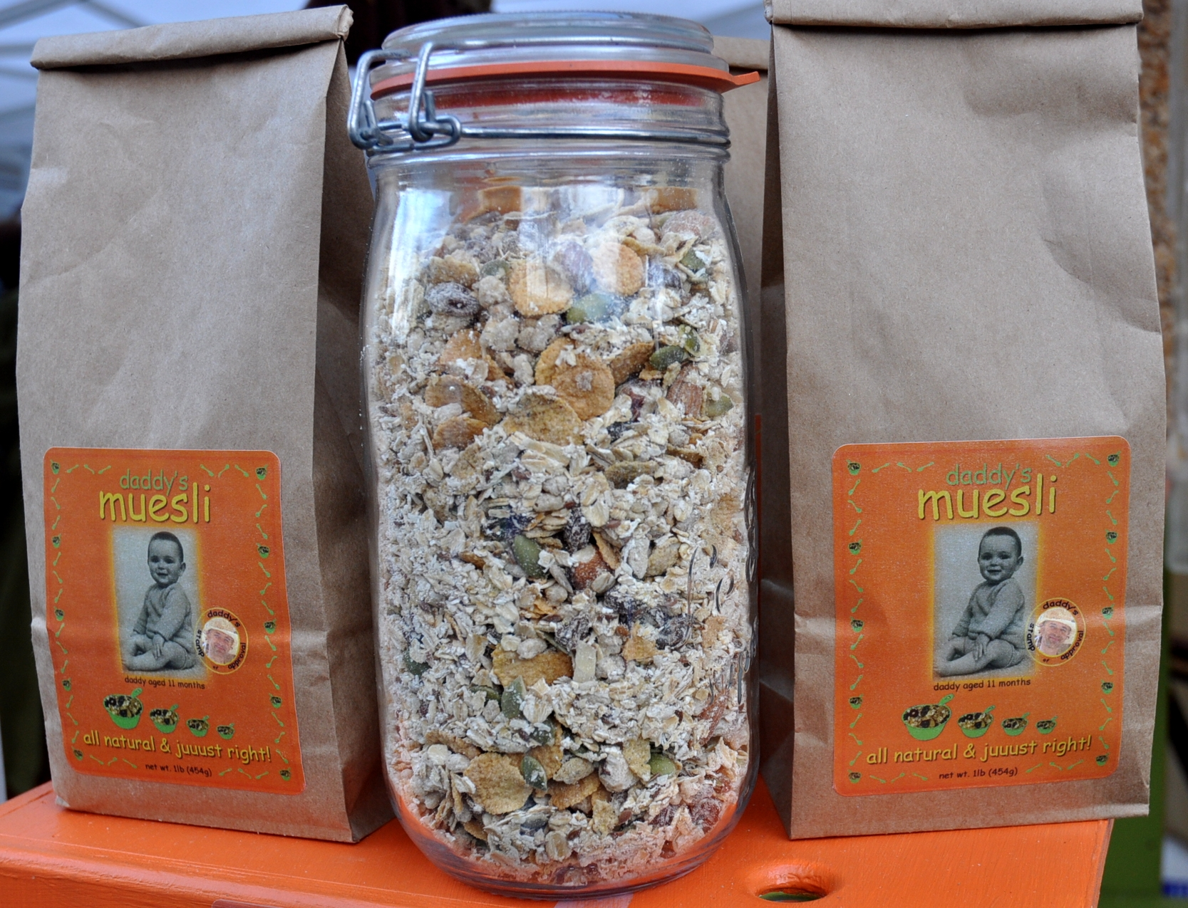 Daddy's Muesli. Photo copyright 2010 by Zachary D. Lyons.