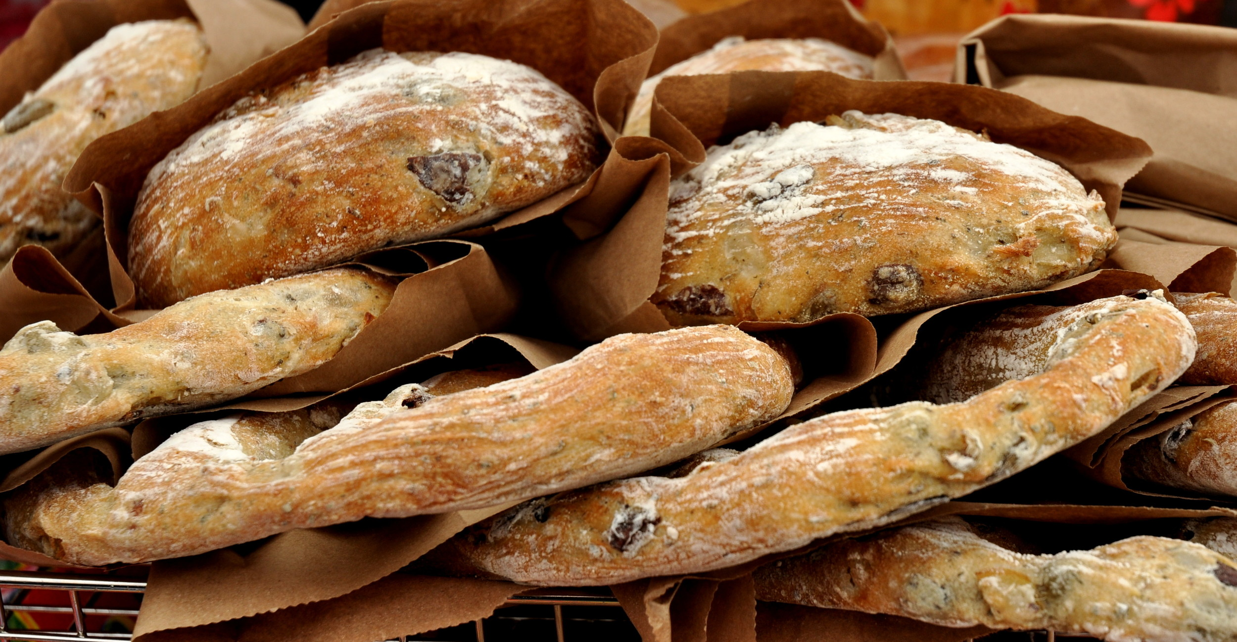 Fougasse from Tall Grass Bakery. Photo copyright 2011 by Zachary D. Lyons.