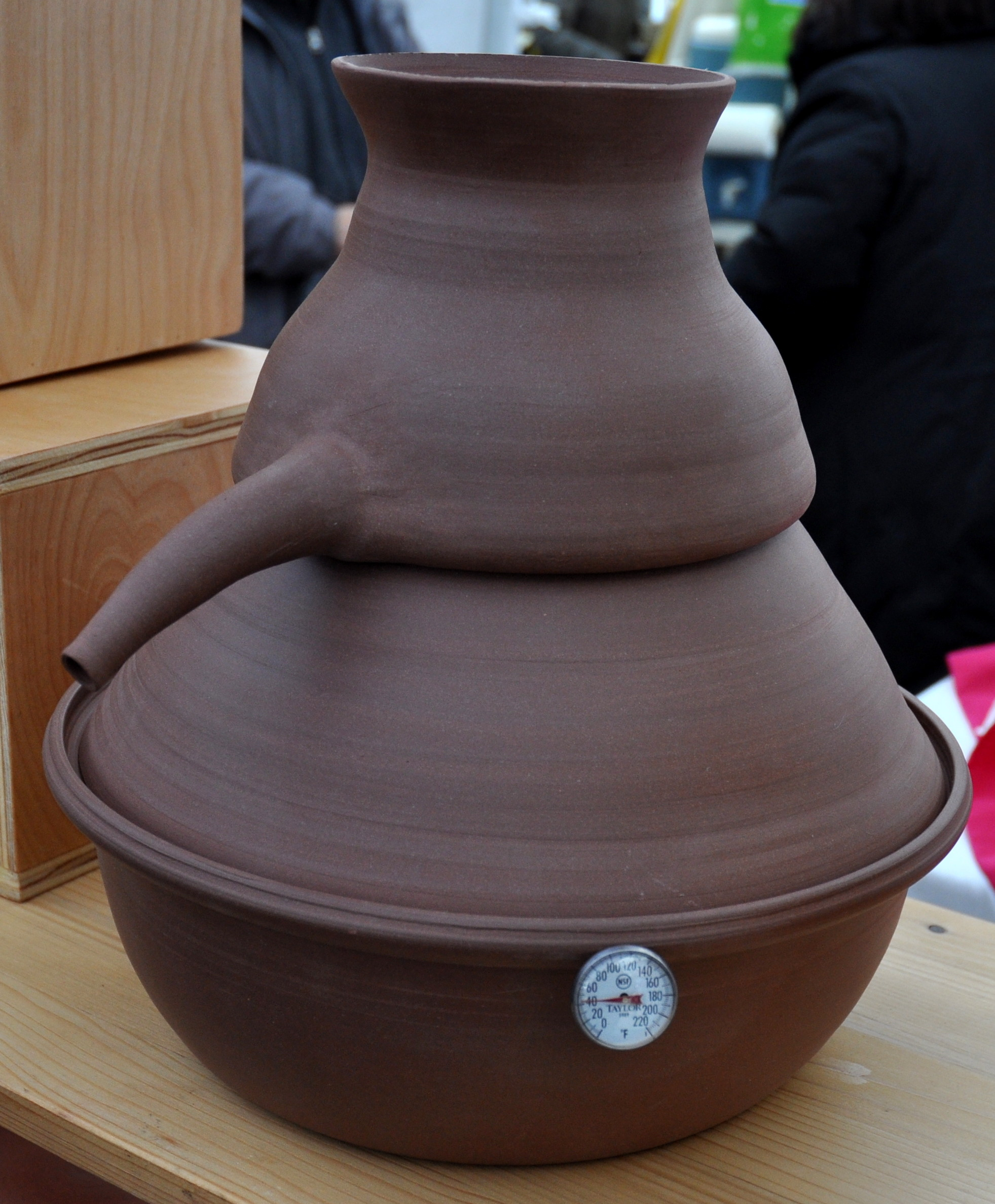 A personal-sized still from Daily Bird Pottery. Photo copyright 2012 by Zachary D. Lyons.