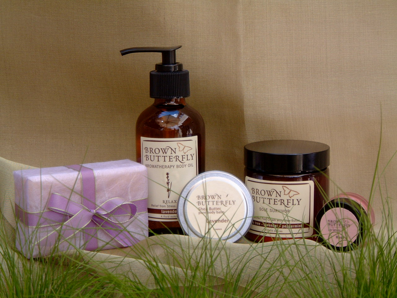 Spa Day Gift Box from Brown Butterfly. Photo courtesy Brown Butterfly.