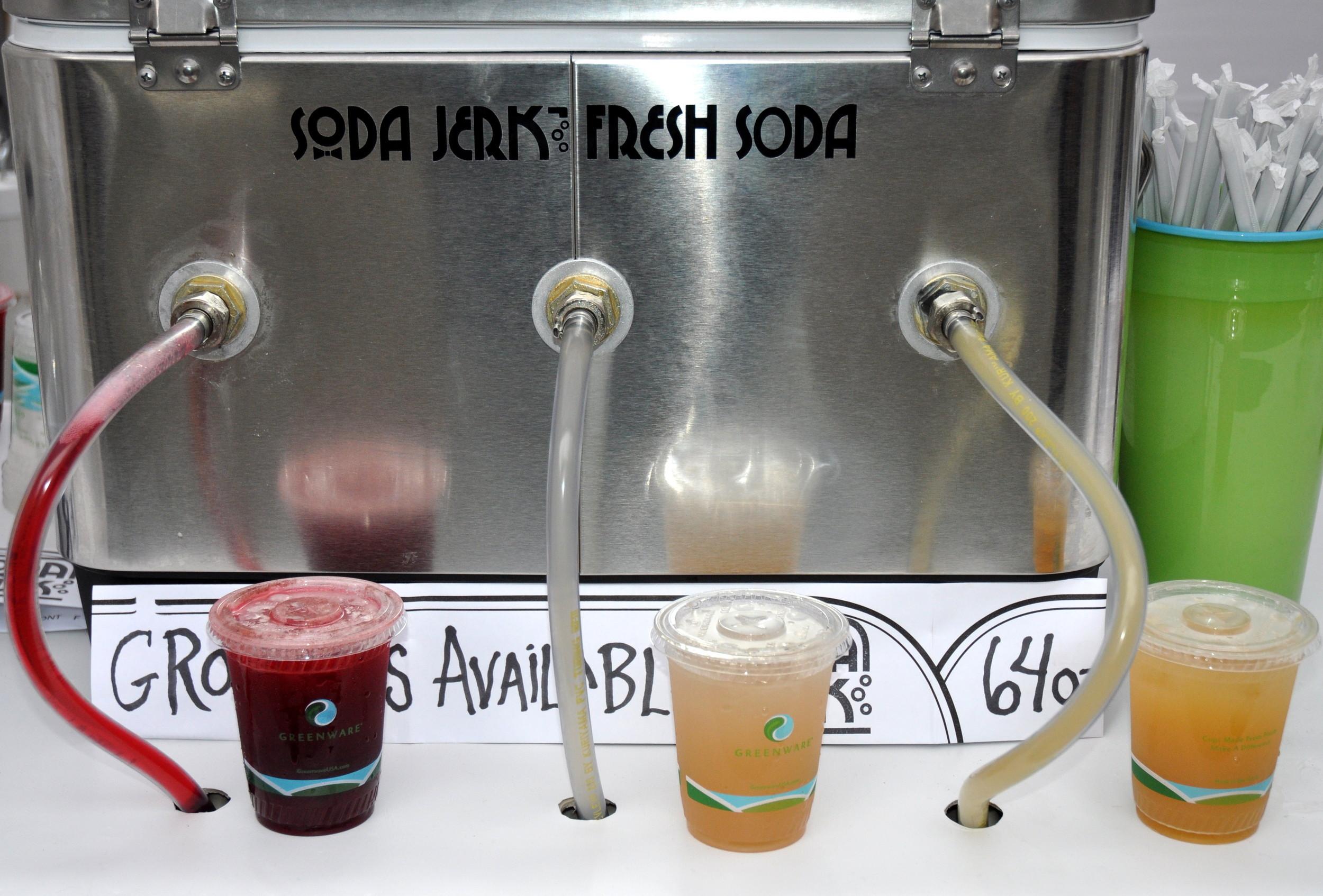 Fresh sodas from Soda Jerk Soda. Photo copyright 2012 by Zachary D. Lyons.