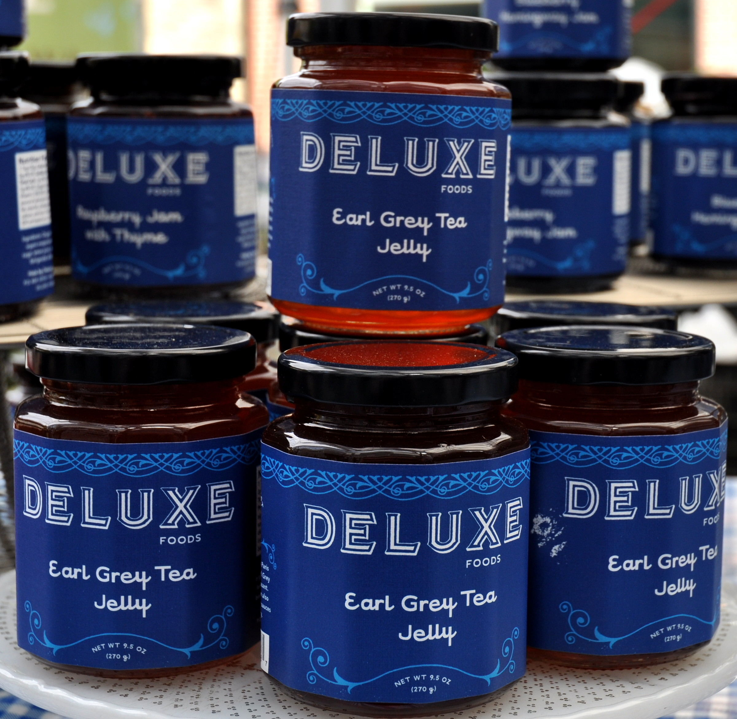 Earl grey tea jelly from Deluxe Foods. Photo copyright 2013 by Zachary D. Lyons.