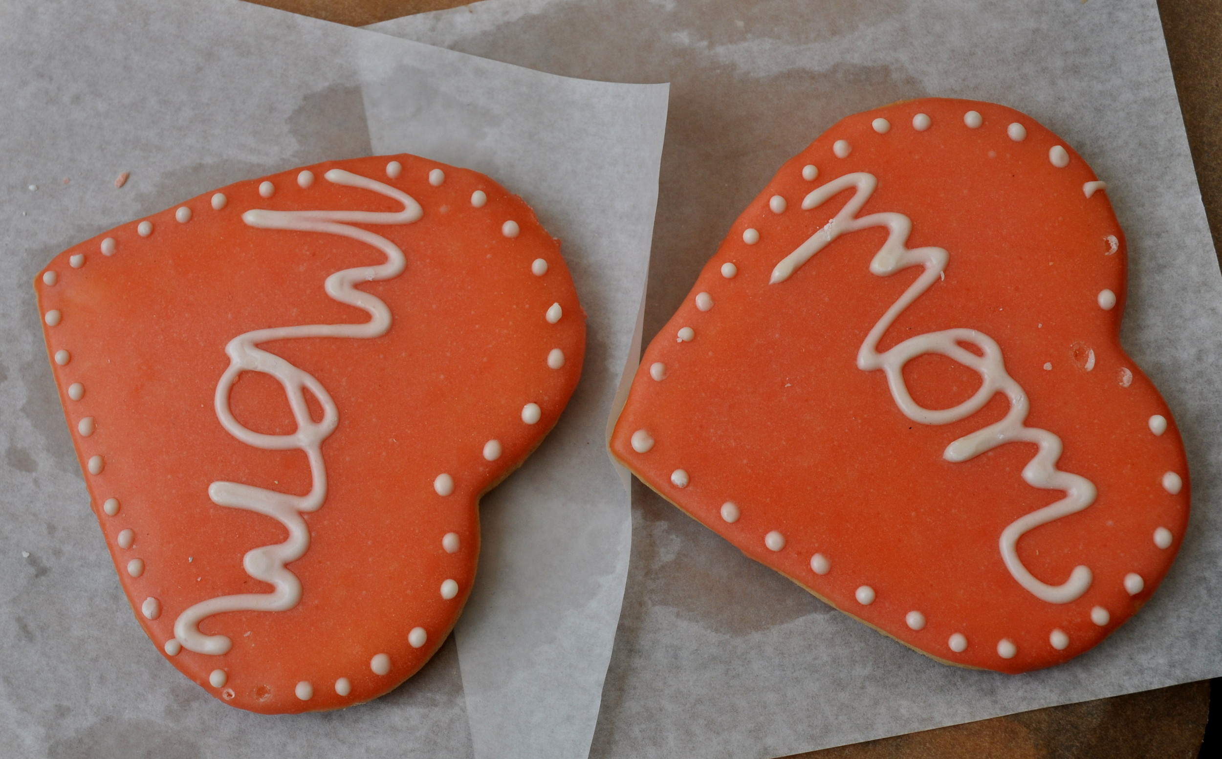 Mothers Day Cookies from Grateful Bread Bakery. Photo copyright 2013 by Zachary D. Lyons.