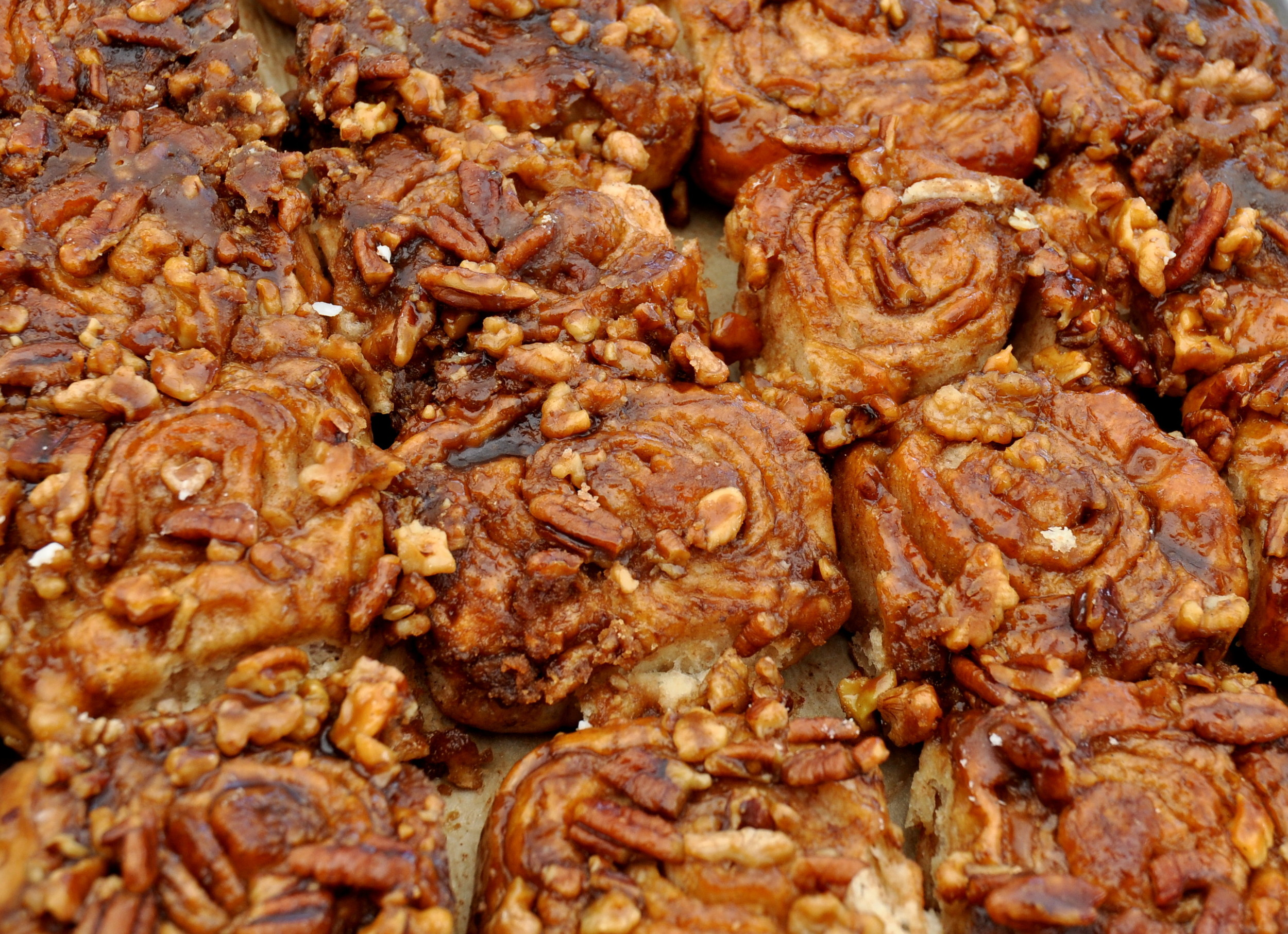 Sticky buns from Tall Grass Bakery. Photo copyright 2013 by Zachary D. Lyons.