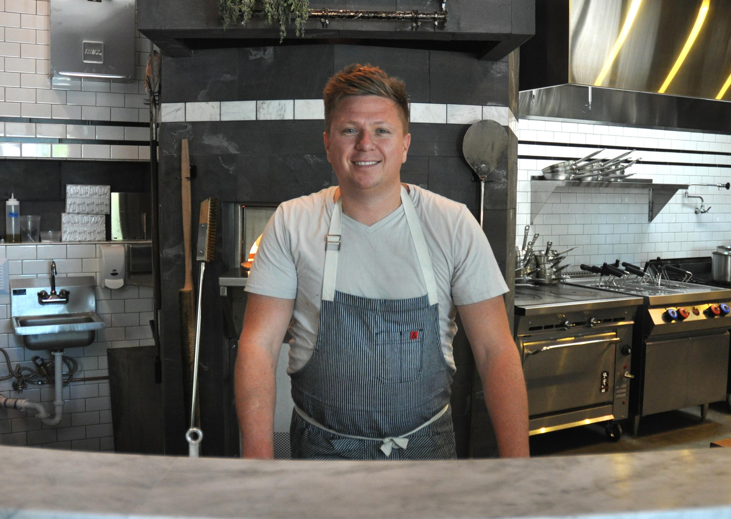 Chef Jason Stoneburner of Bastille & Stoneburner. Photo copyright 2013 by Zachary D. Lyons.