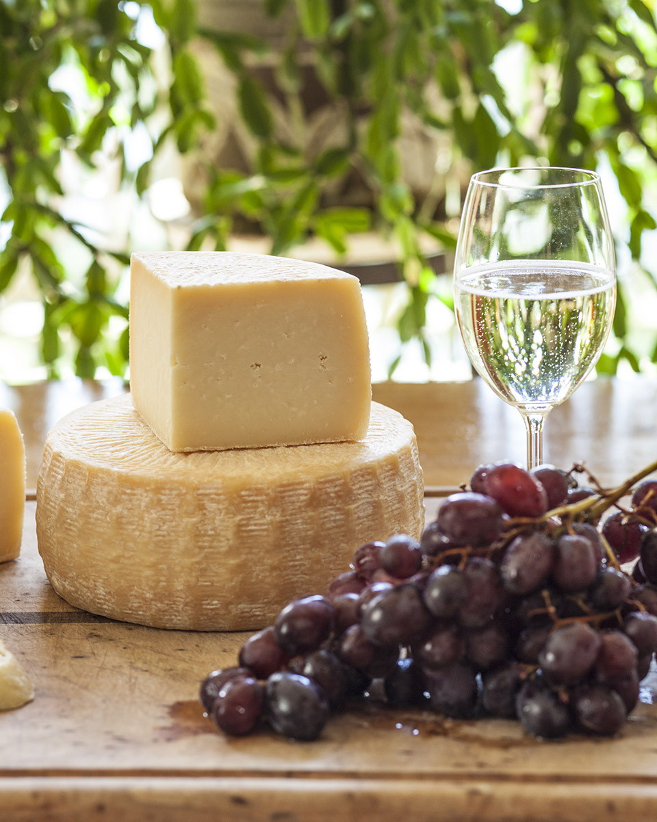 Aged-sheep's milk cheese from Glendale Shepherd. Photo courtesy Glendale Shepherd.