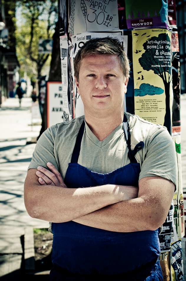 Chef Jason Stoneburner of Stoneburner Restaurant. Photo courtesy Stoneburner Restaurant.