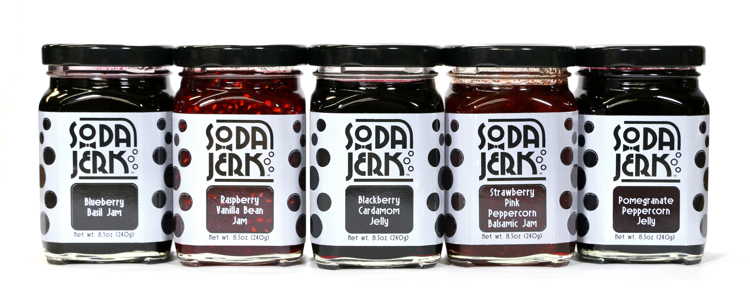 New jams and jellies from Soda Jerk Fresh Sodas at Ballard Farmers Market. Photo courtesy Soda Jerk Fresh Sodas.
