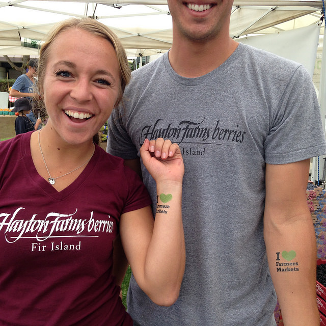 Double tattoo trouble from Hayton Farms, at Wallingford.