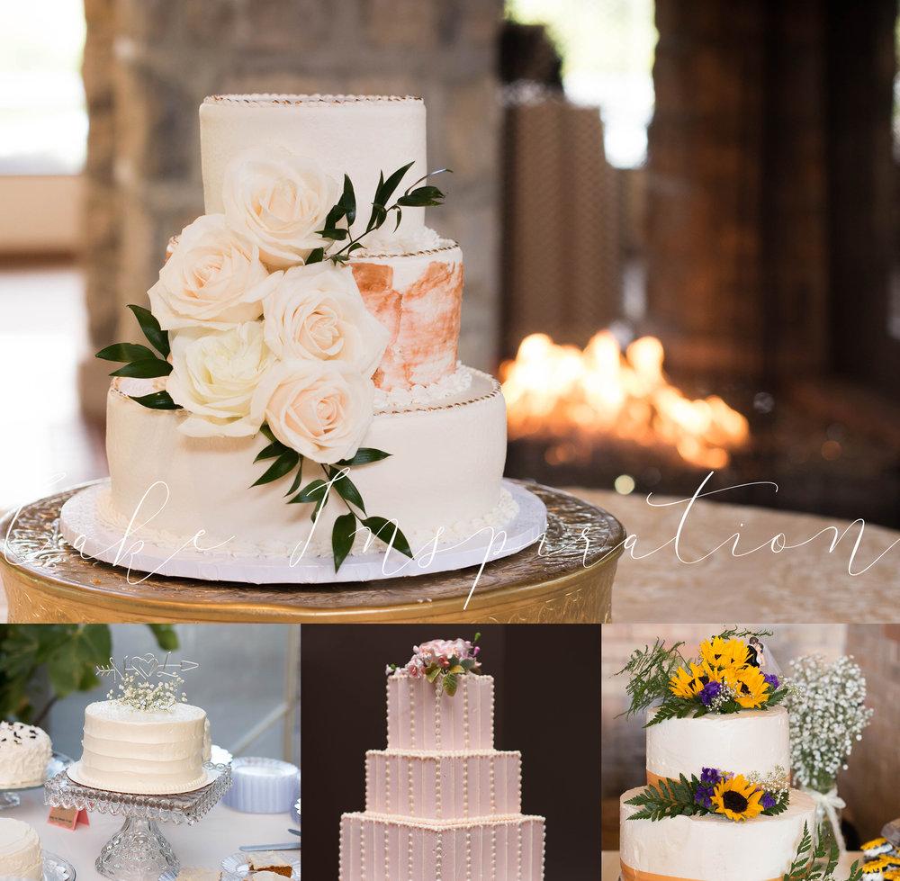 pink wedding cakes in columbus ohio