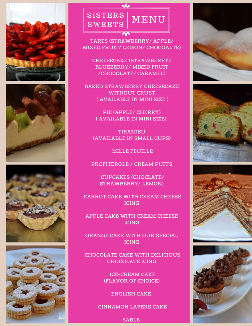 Sisters sweets English menu.png