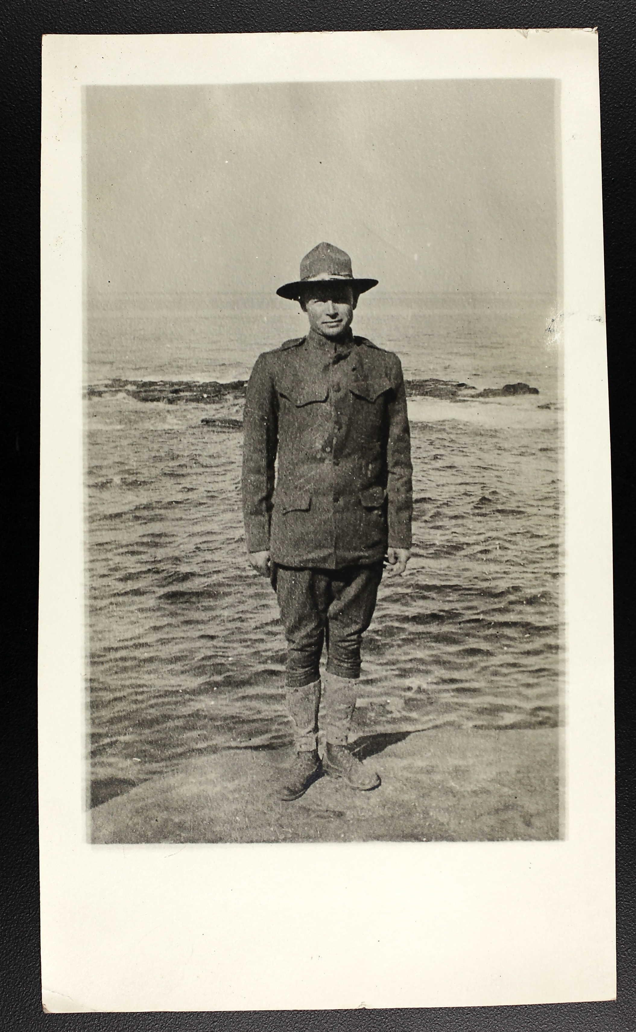 Army Private Frank E. Denham
