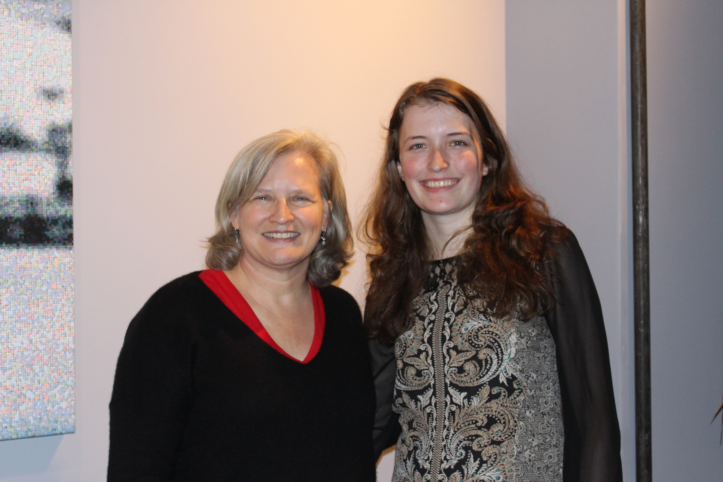 With Carrie Pieper, kindred spirit