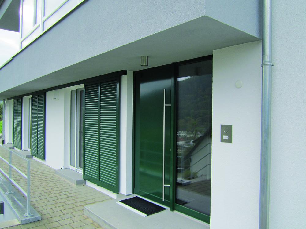 Fensterläden und Insektenschutz