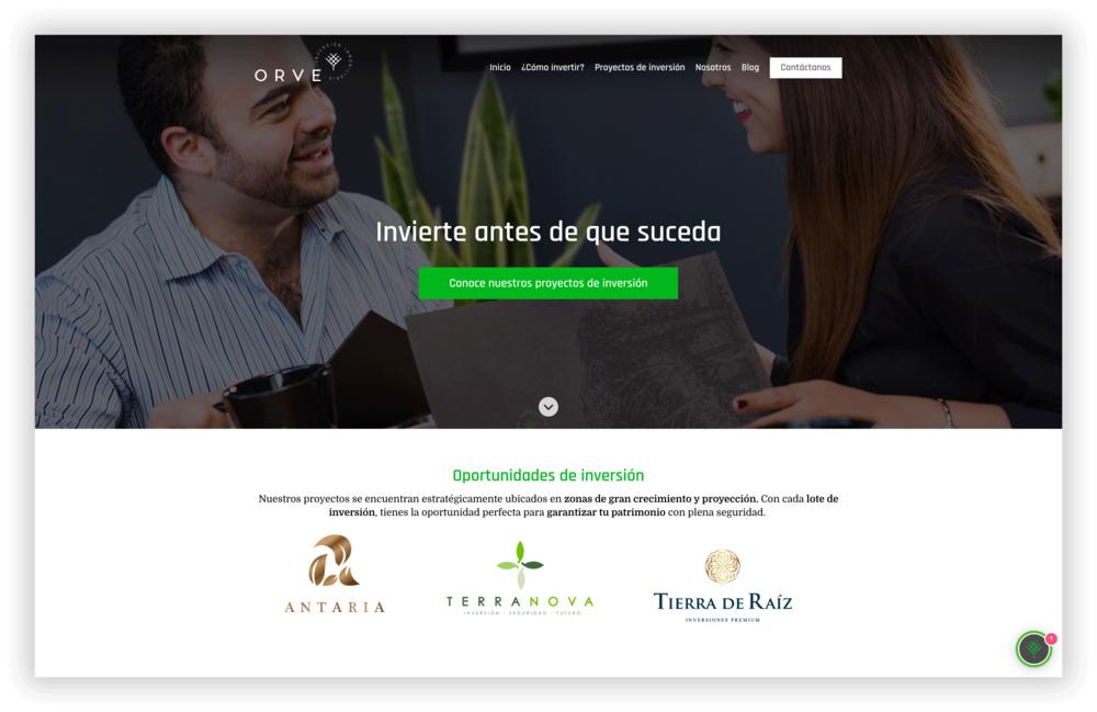 El sitio nuevo - Hecho enteramente con el Hubspot COS, el sitio alberga contenido para las diferentes etapas del ciclo de compra (conciencia, consideración, decisión),orientado a conversiones, segmentado por perfiles de comprador, etc…