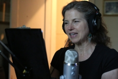 Behind the scenes: Voice Actor Kathryn G. Howell as Julia Ward Howe