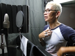 Behind the scenes: Voice Actor Dayenne C. Walters as Edmonia Lewis