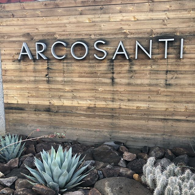 A R C O S A N T I  You made my dream come true. Waking up in the most beautiful place in the whole world. Still dreaming.  #arcosanti #paolosoleri #soleribells #arizona #mayerarizona #ecology
