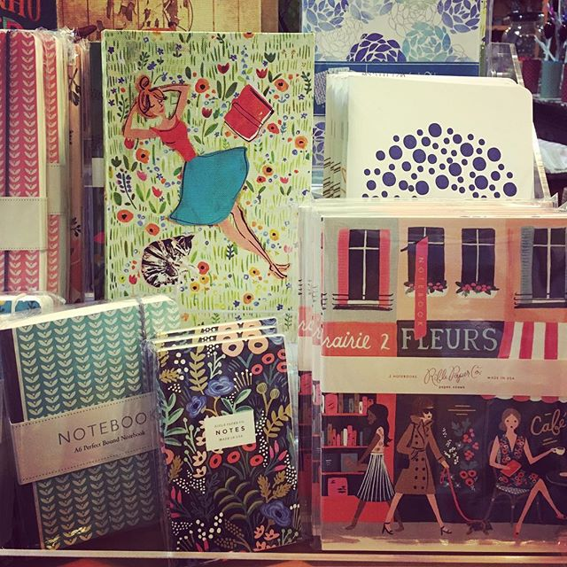 Jot it down -- we have a lovely selection of journals in stock! #creativewriting #frontierfavs #athensga