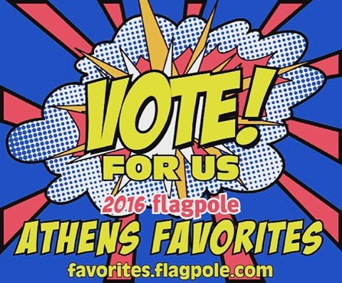 We would love your votes for Athens Favorites in the retail categories! Link to voting in our profile. #frontierfun #athensga #my_athens #flagpole