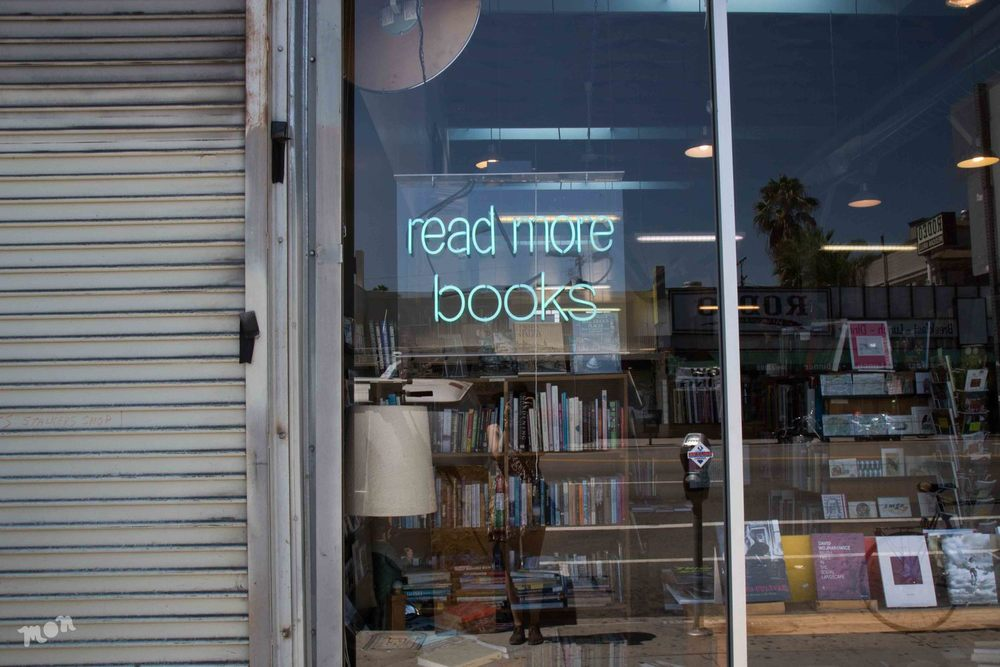 Stories Books and Cafe's friendly PSA