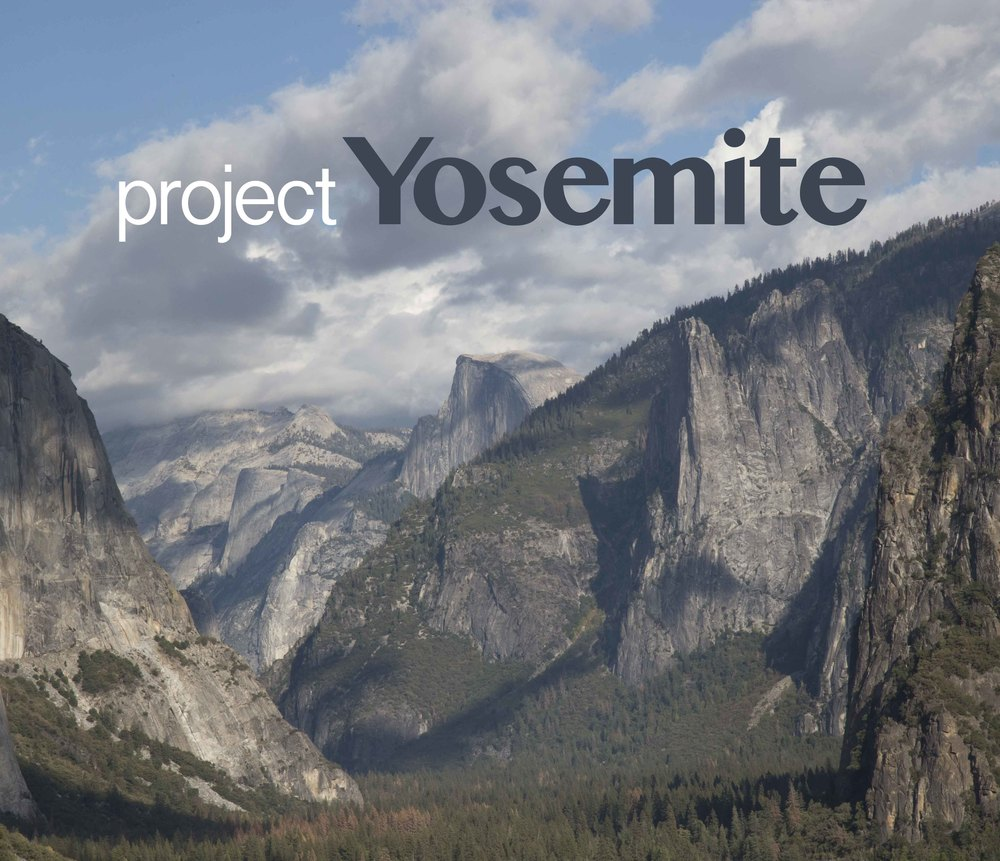 'Tunnel View' entering into Yosemite Valley