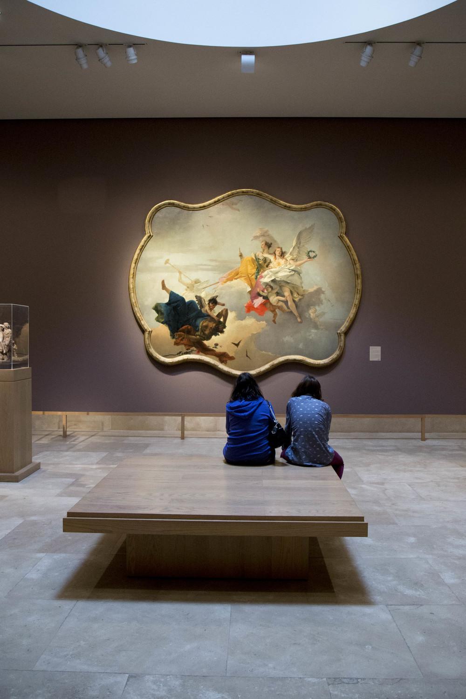 Gallery scene