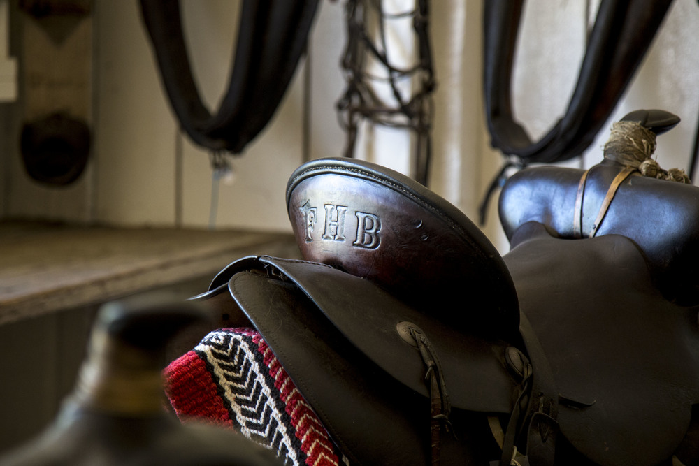One of Thomas Bixby's peronal saddles