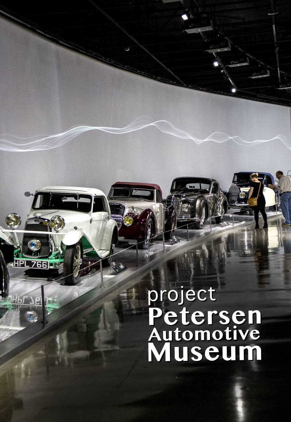 PETERSEN AUTOMOTIVE MUSEUM, cars, cars, cars…