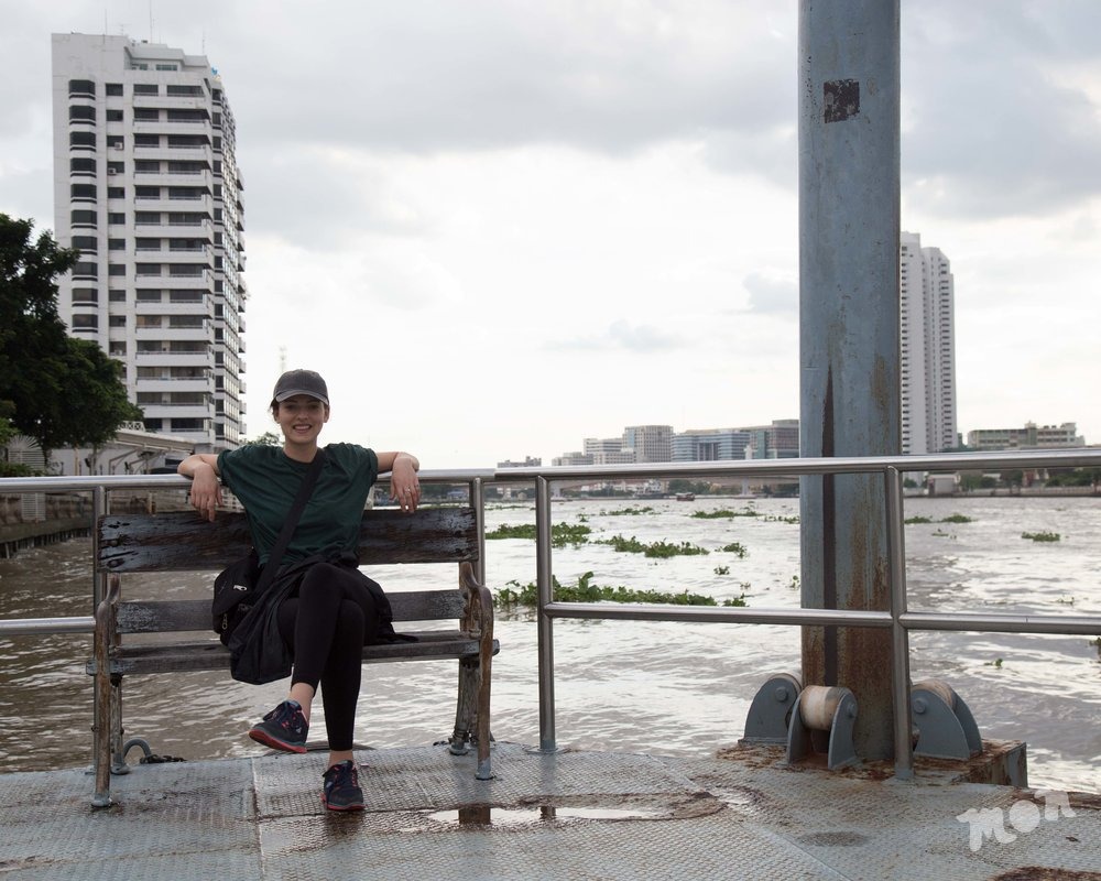 Hill by the Chao Phraya River