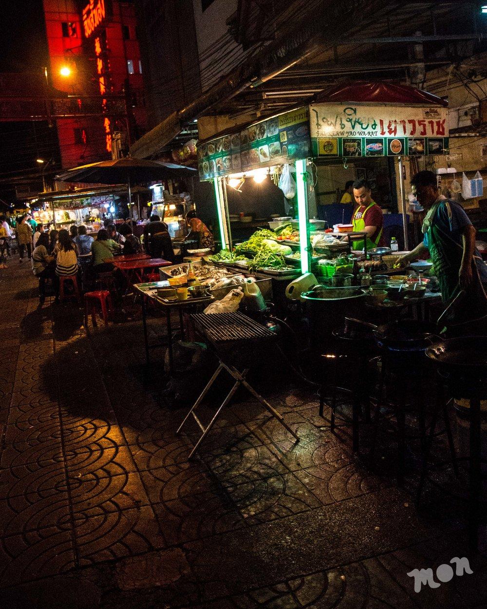 Chinatown Street Vendors