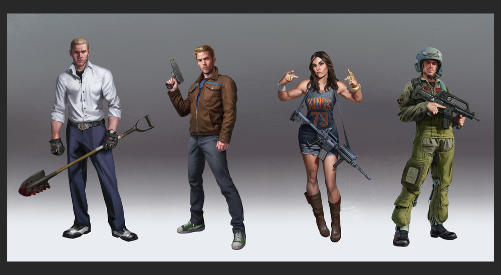 Lake Hurwitz - War of Rivals Lineup 01 - Character concept art created for War of Rivals by GREE.