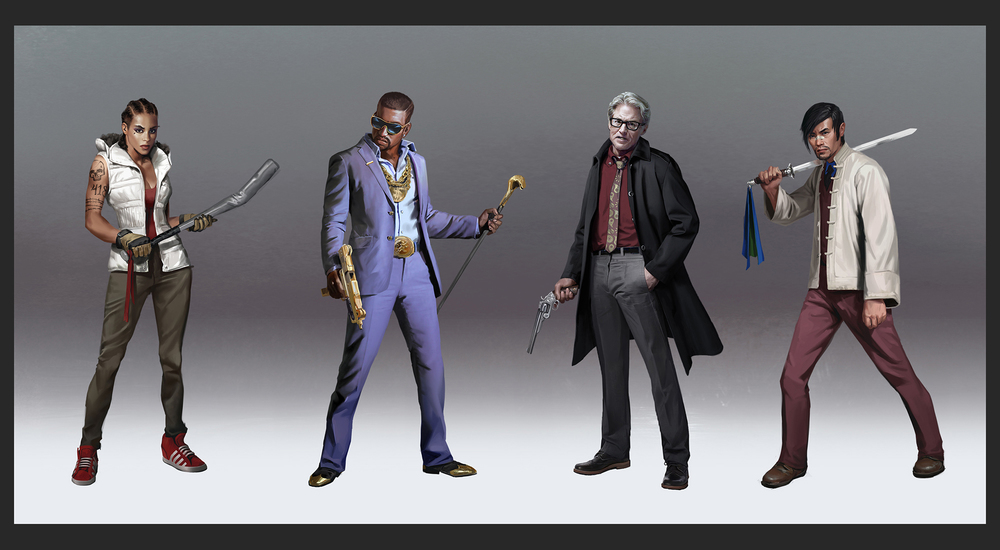 Lake Hurwitz - War of Rivals Lineup 02 - Character concept art created for War of Rivals by GREE.