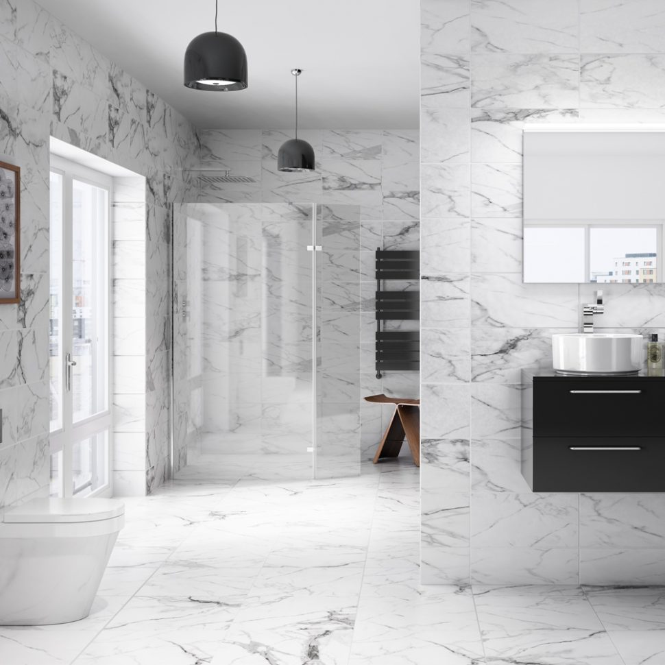 Stirring Marble Bathroom Tiles Images Inspirations Stupendous Photo