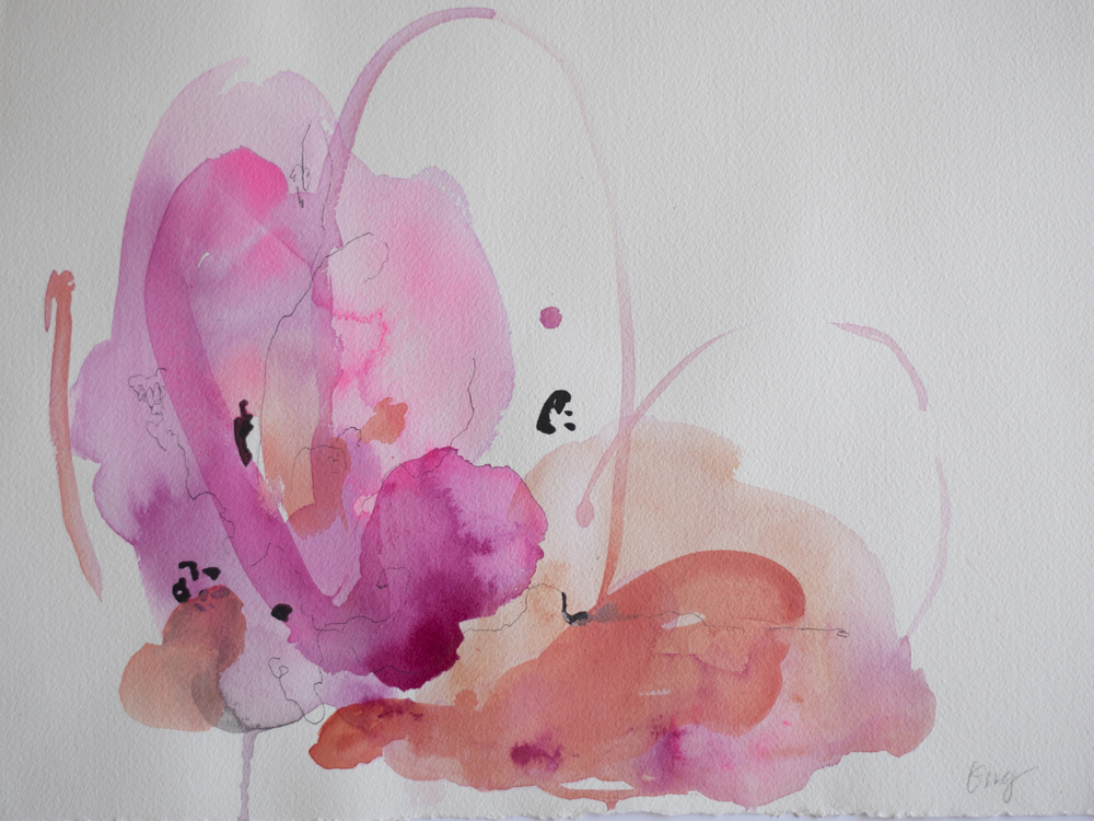 Abacos 4 16 in. x 22 in. acrylic, ink on paper   sold