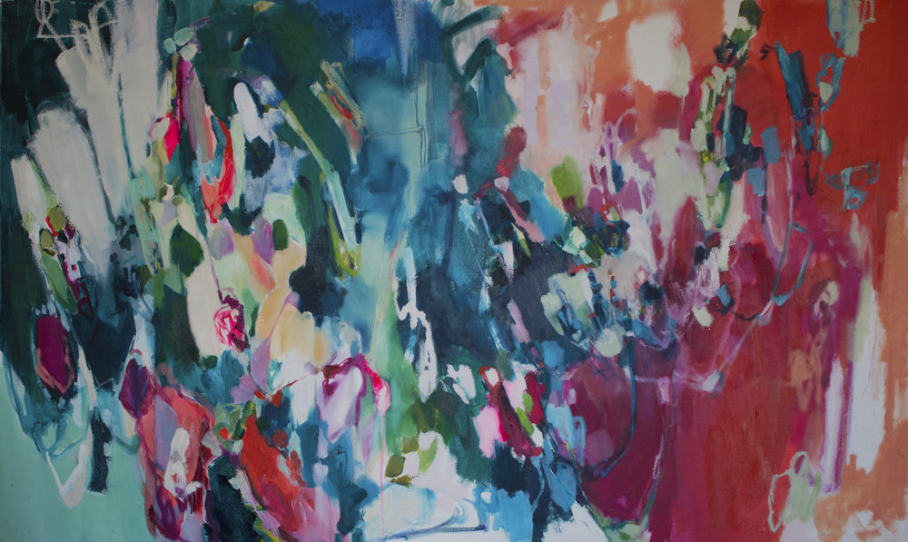 COUNTERBALANCE #3 60 in. x 36 in. oil, acrylic on canvas