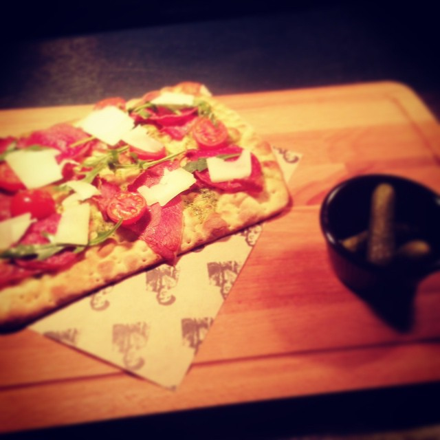 Charcuterie Flatbread #sirnormans