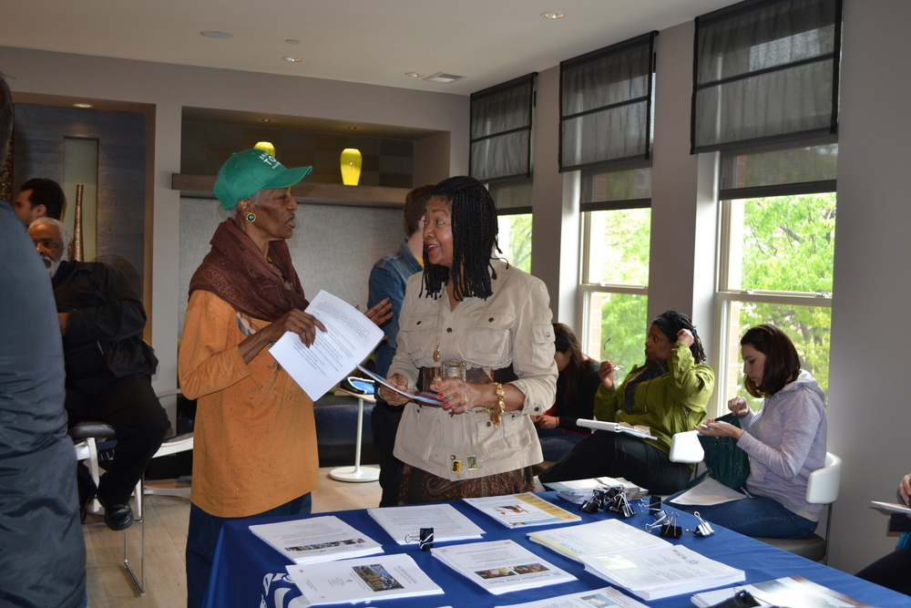 Department of Aging was on hand with information.