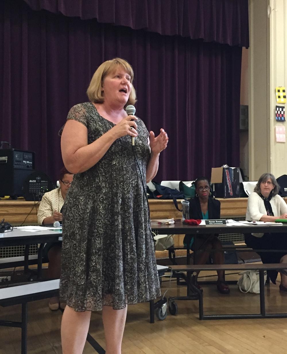 Truesdell Principal Mary Ann Stinson