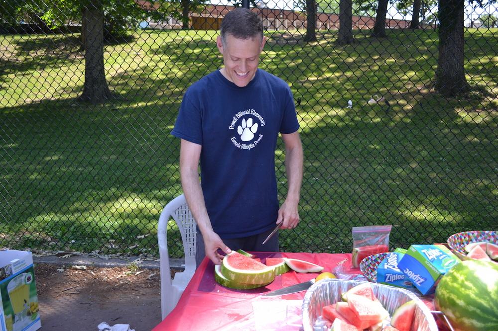 Watermelon skills.