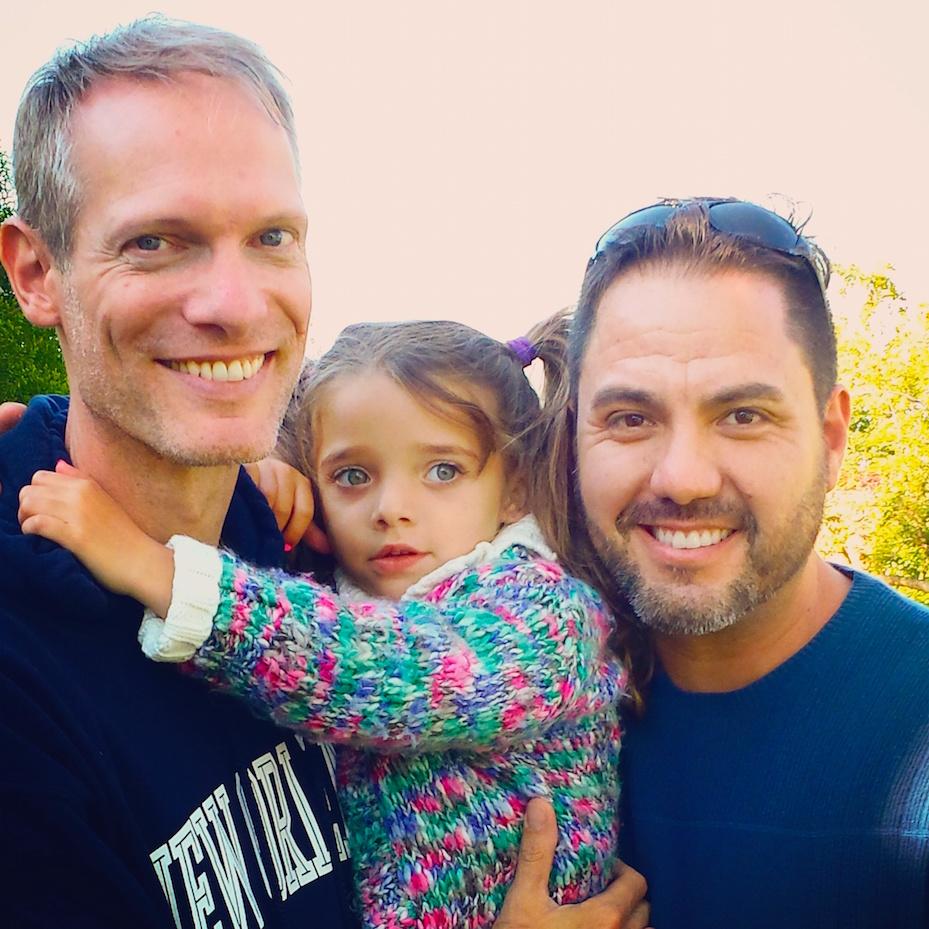 Mehl Penrose, Ariel and Eddie Suarez.