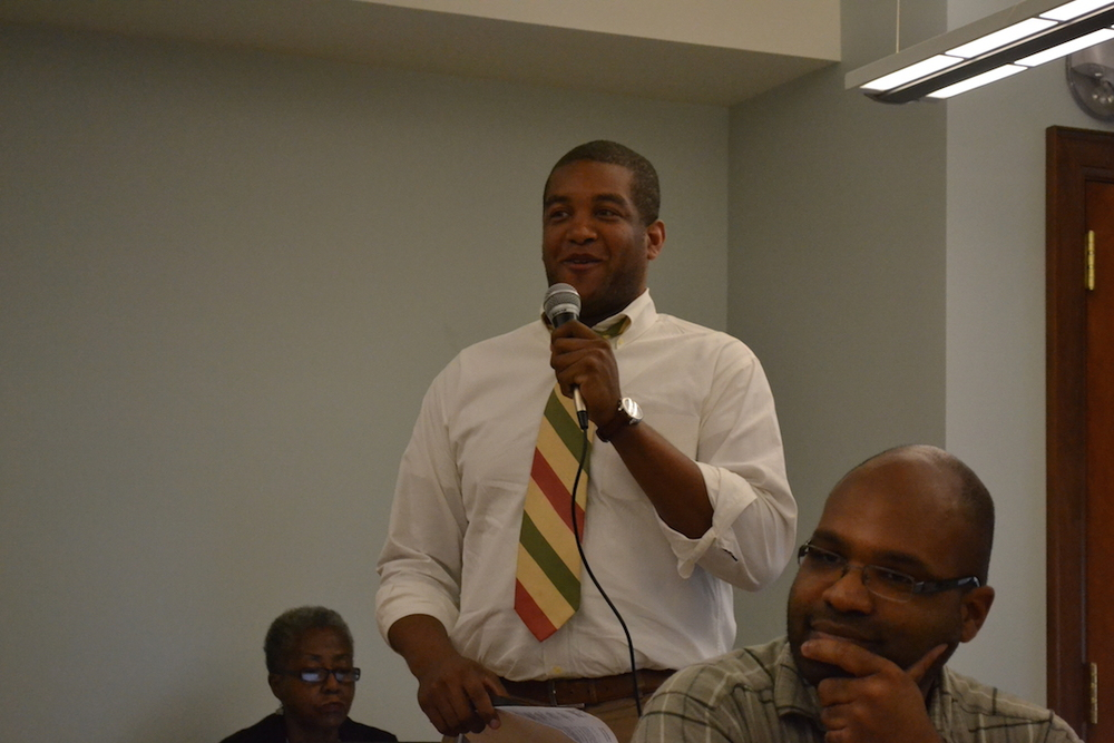 Khalil Thompson, Ward 4 Liaison for the Mayor