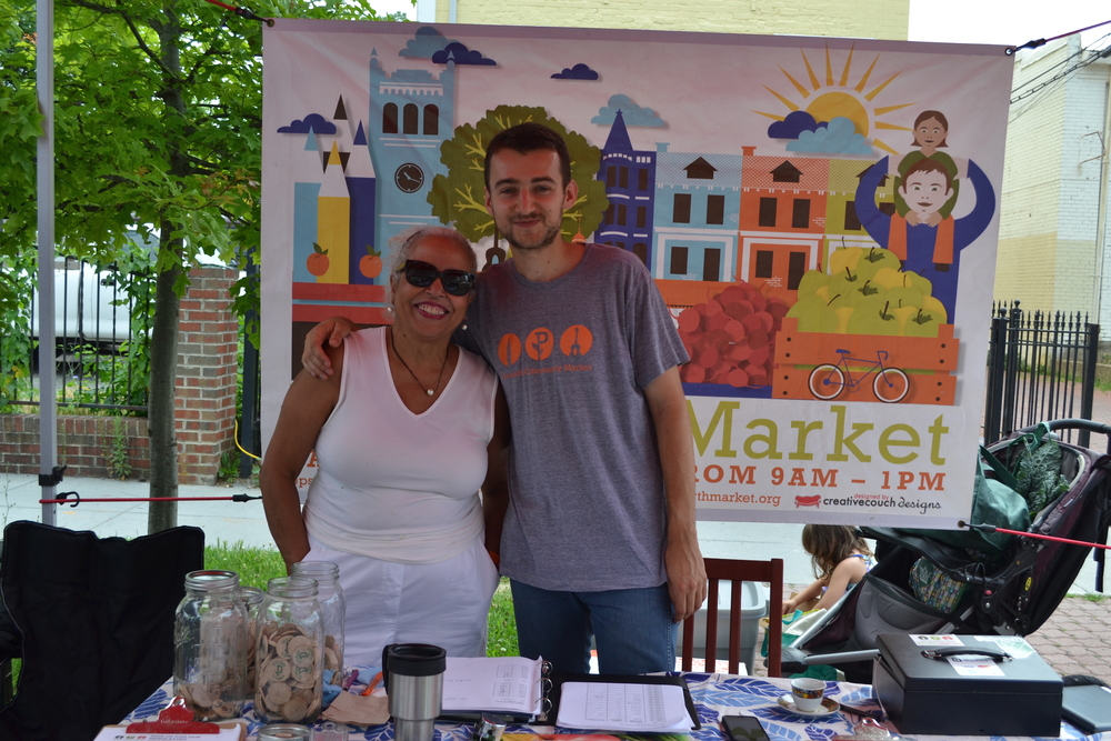 Thelma Pippin and Bartek Starodaj are waiting to help you at the info table.
